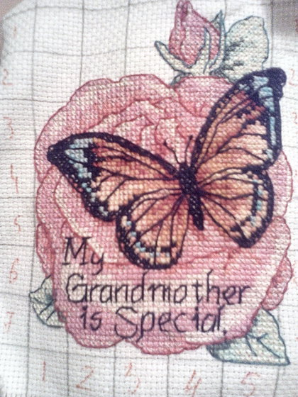 Работа «Butterfly: My Grandmother is Special.»