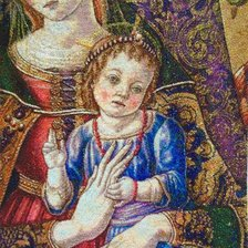 Работа «Madonna with the Child, Vittorio Crivelli»