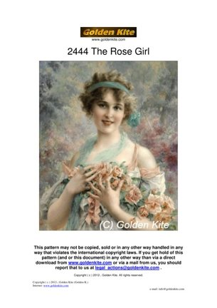 ГК 2444 The Rose Girl №146190
