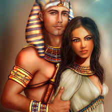 Схема вышивки «The_royal_couple_by_crayonmaniac»