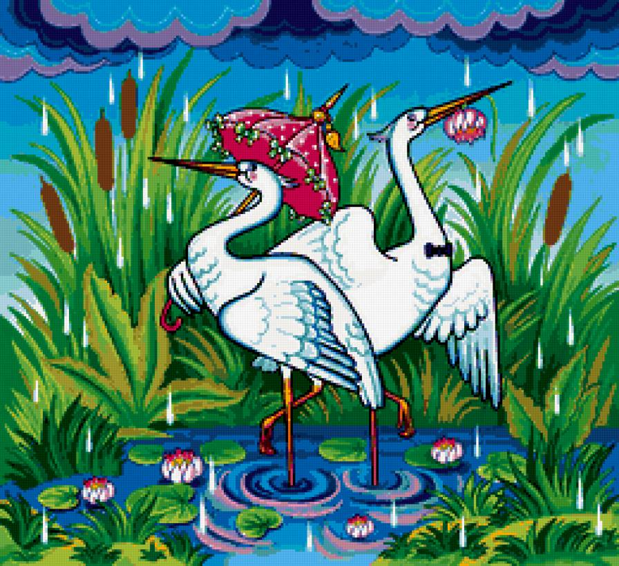 The heron canvas art by peter paillou icanvas
