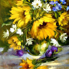 Картинка «sunflowers2»