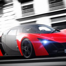 Схема вышивки «Marussia B2 Red»