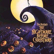 Схема вышивки «The Nightmare Before Christmas»