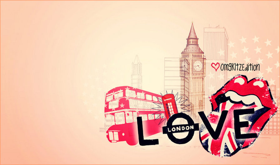 I love london drawing