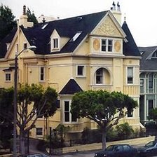 Схема вышивки «The C. A. Belden House, a Queen Anne Victorian in the Pacific He»