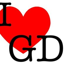 Схема вышивки «Green day I love GD»