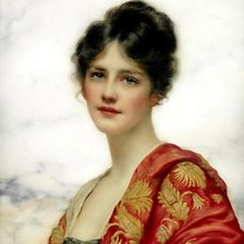 Схема вышивки «William Clarke Wontner (1857-1930) - Esme, 1919»