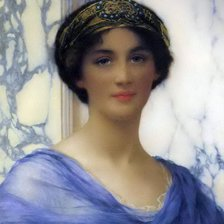 Схема вышивки «William Clarke Wontner (1857-1930) - A classical beauty»