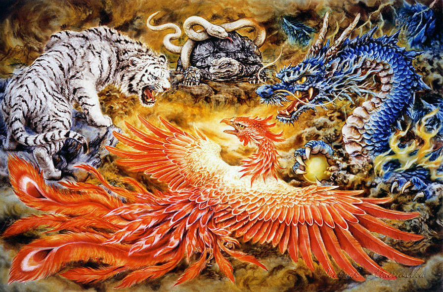 four celestial beast Creating a celestial creature celestial is an inherited template that can be added to any corporeal giant, humanoid, magical beast, monstrous humanoid.
