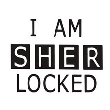 Схема вышивки «I am Sher Locked»