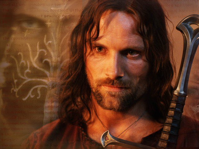 aragorn depicted as a type of Tolkien can say that aragorn became king and reigned for a hundred years  but i exhausted interest in that type of story after reading gregory of tours.