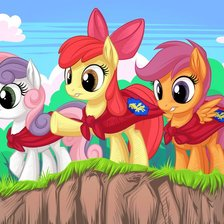 Картинка «Cutie Mark Crusaders»