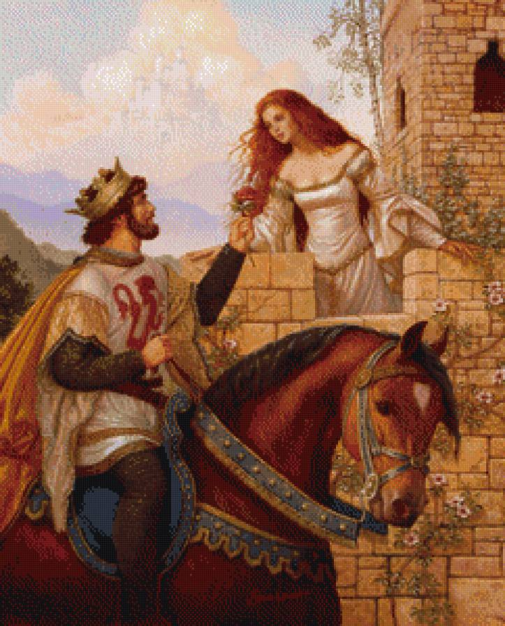 a literary analysis of reflections of knights and their archetypal damsels in king arthur Chretien de troyes and arthurian romance in their childhood the magic of the legends of king arthur  the final chapter then is an analysis of the evolution.