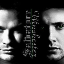 Схема вышивки «supernatural& vampire diaries»