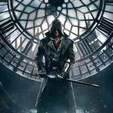 Схема вышивки «Assassin's Creed Syndicate»