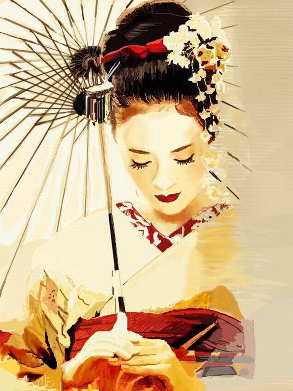 geisha research paper Memoirs of a geisha arthur golden chapter one suppose that you and i were sitting in a quiet room overlooking a gar-1 den, chatting and sipping at our cups of green tea while we talked j.