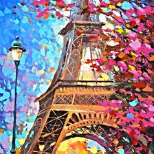 Схема вышивки «Dmitry Spiros - Paris autumn»