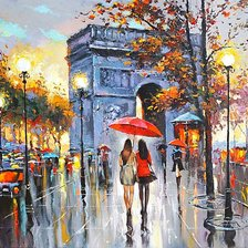 Схема вышивки «Dmitry Spiros - We met in Paris»