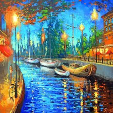 Схема вышивки «Dmitry Spiros - City of my dreams»