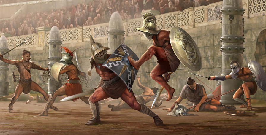 "the rise of gladiatorial combat in rome Rise as a legend ""ryse: son of rome"" tells the story of marius titus cooperative gladiatorial combat in the colosseum colosseum mode."
