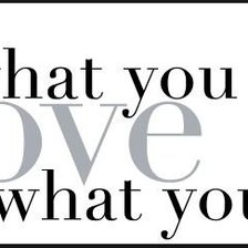 Схема вышивки «Do what you love, love what you do»