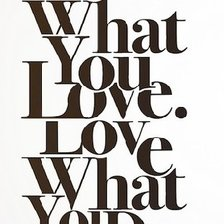 Схема вышивки «Do what you love, love what you do_1»