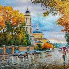 Схема вышивки «Autumn invites you for a walk.»