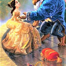 Схема вышивки «Disney= Beauty and The Beast»